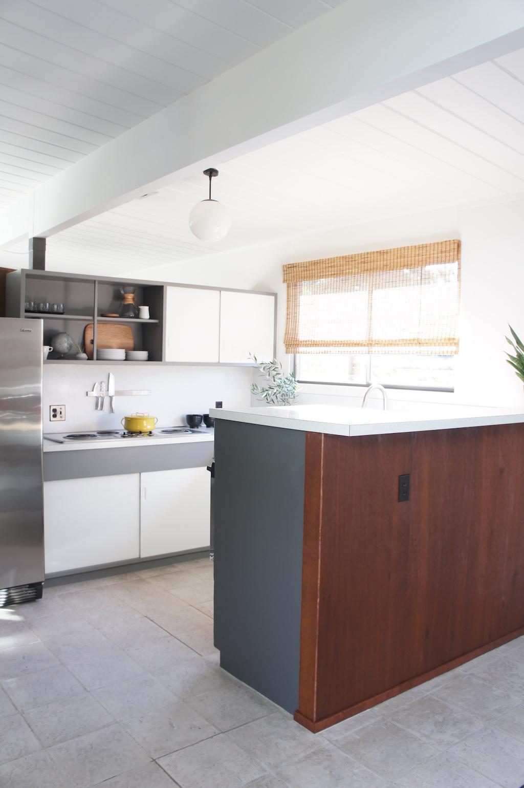 Quarter Round Kitchen Cabinets Eichler Kitchen Refresh Dear House I Love You